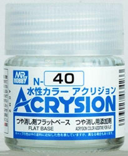 GSIクレオス 水性カラー アクリジョン つや消し剤フラットベース N40 塗料 B