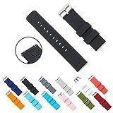 CIVO クイックリリース時計バンド Quick Release 18mm 20mm 22mm Watch Band 交換ベルト シリコーンゴム時計バンド Silicone Watch St..
