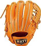 ゼット(ZETT) 硬式野球 グラブ プロステイタス プレミアム セカンド・ショート用 オレンジ(5600) サイズ:4 専用グラブ袋付き BPROGP16 【日本製】