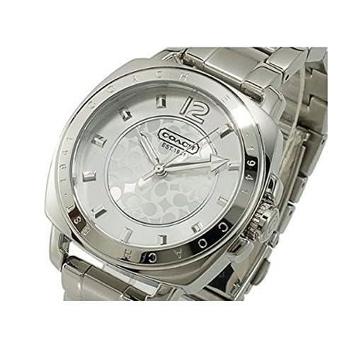 [コーチ]COACH COACH コーチ 時計 腕時計 ボーイズウォッチ ボーイフレンド ミニブレスレット シルバー 14501535 [並行輸入品]