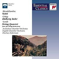 Octet in E Flat Major / Holberg Suite Op 40