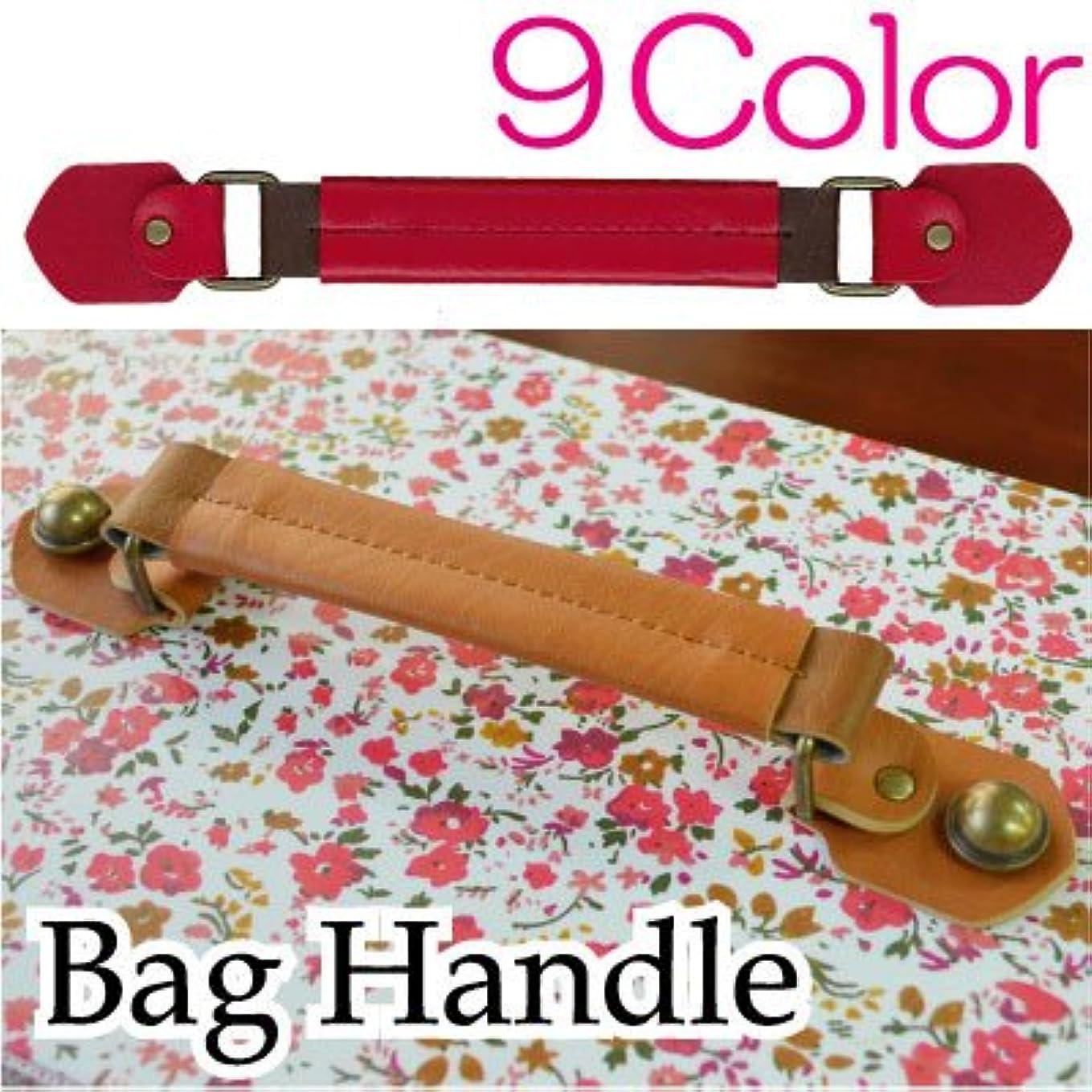 騒ナプキン憂慮すべき【INAZUMA】 手作りバッグ用持ち手。合成皮革製。カルトナージュ、トランクに。全7色。YAS-221#540茶