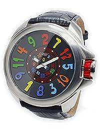 [コグ]COGU ジャンピングアワー 自動巻き 腕時計 JHR-BCL