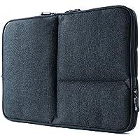 サンワダイレクト 保護ケース 13.3インチワイド 3小物ポケット付 軽量 肉厚クッション PC タブレット収納 ネイビー 200-IN050NV