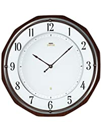SEIKO CLOCK EMBLEM(セイコークロックエムブレム)ソーラー電波掛け時計 HS536B