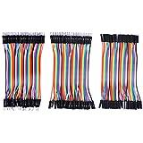 UCEC Breadboard Jumper Wires Ribbon Cables Kit -Include Female to Male & Female to Female & Male to Male (10cm)