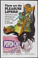 PSYCH-OUT –ジャック・ニコルソン-米国輸入映画ウォールポスター印刷– 30CM X 43CM