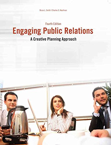 Download Engaging Public Relations: A Creative Planning Approach 1465266739