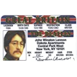 John Lennon Fun Fake ID License by Signs 4 Fun [並行輸入品]