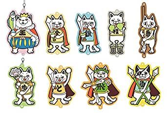3月のライオン ニャー将棋ラバーストラップ BOX商品 1BOX = 9個入り、全9種類