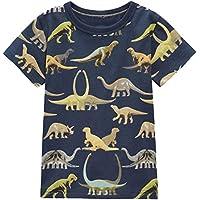 Dan Ching Kids Little Boys Short Sleeve T-Shirts 2T - Size 6