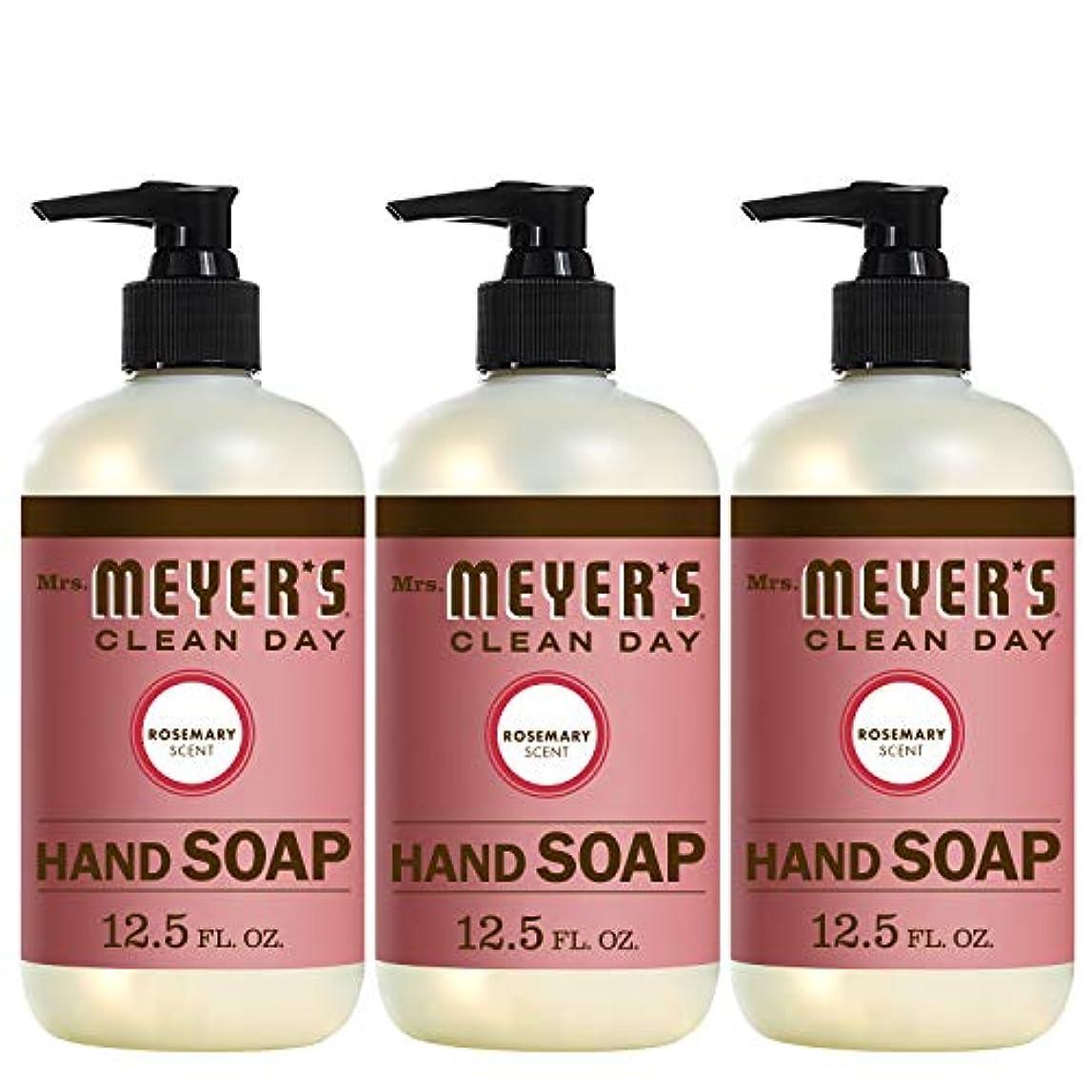 文法訴えるどうやらLiquid Hand Soap - Rosemary - Case of 6 - 12.5 oz by Mrs. Meyer's