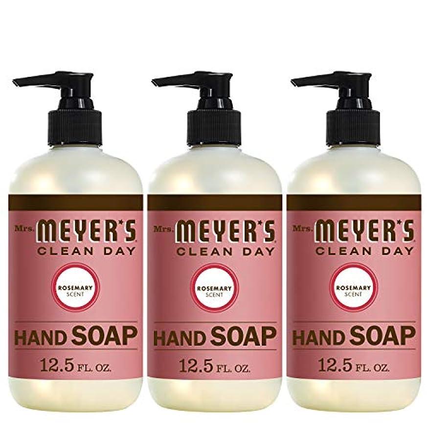 マージン耐久権限Liquid Hand Soap - Rosemary - Case of 6 - 12.5 oz by Mrs. Meyer's
