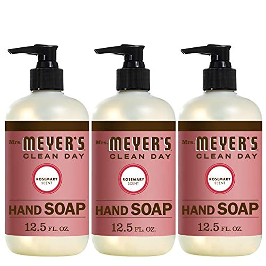 深めるサークルブリードLiquid Hand Soap - Rosemary - Case of 6 - 12.5 oz by Mrs. Meyer's