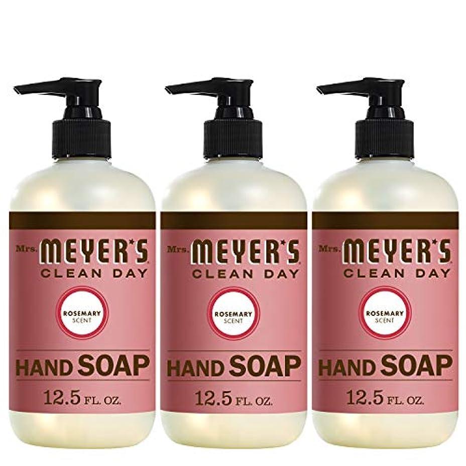 導入する租界ラダLiquid Hand Soap - Rosemary - Case of 6 - 12.5 oz by Mrs. Meyer's