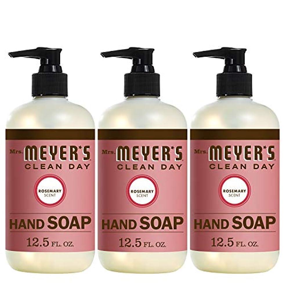 蓮別に器具Liquid Hand Soap - Rosemary - Case of 6 - 12.5 oz by Mrs. Meyer's