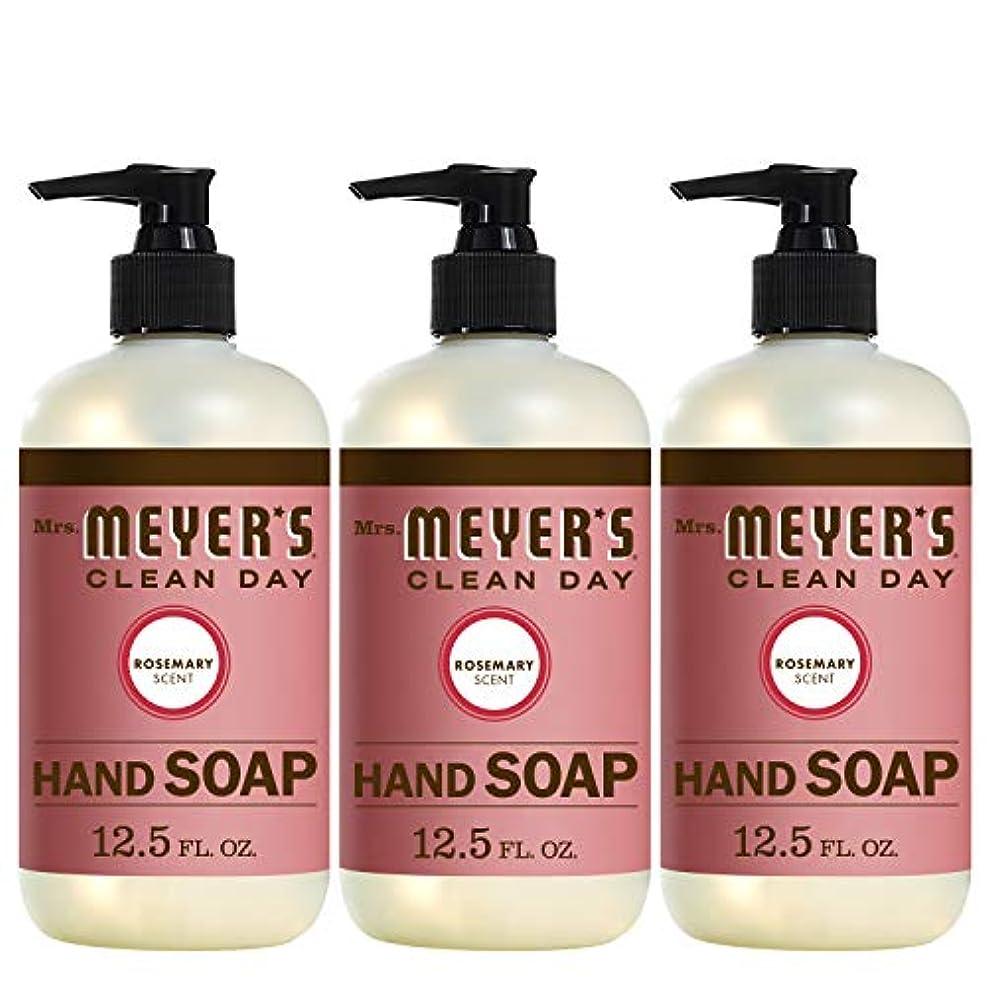 敬マーチャンダイザー悔い改めLiquid Hand Soap - Rosemary - Case of 6 - 12.5 oz by Mrs. Meyer's