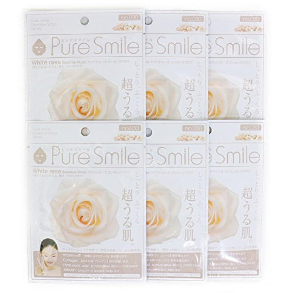 翻訳日付他のバンドでPure Smile ピュアスマイル エッセンスマスク ホワイトローズ 6枚セット