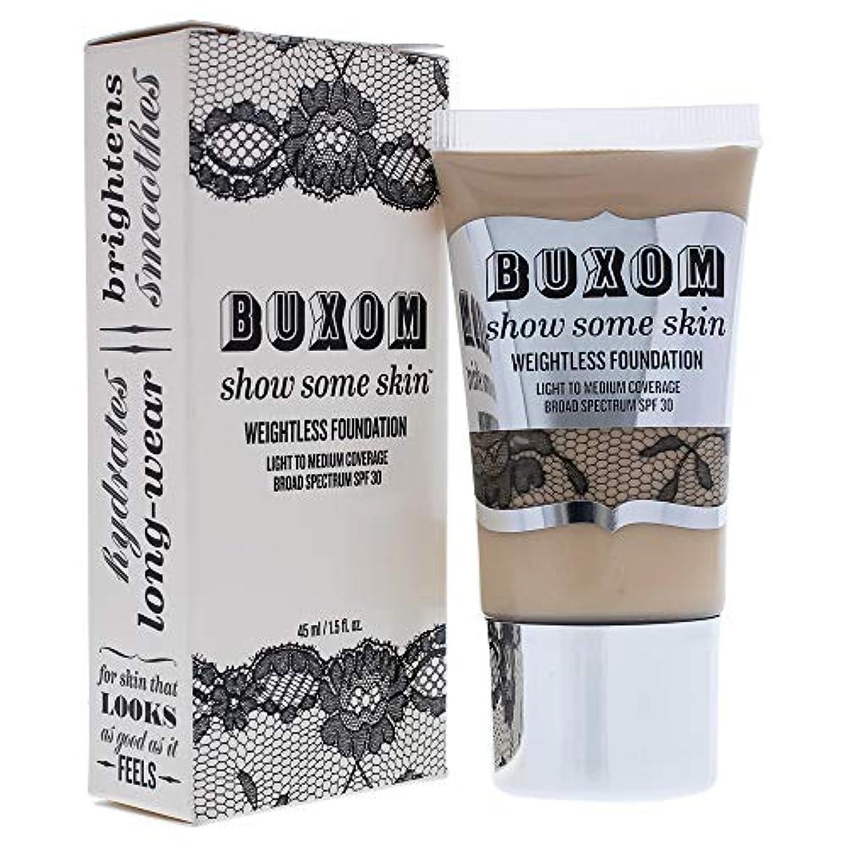 ハンカチ晴れ呼び出すBuxom Show Some Skin Weightless Foundation SPF 30 - # Tickle The Ivory 45ml/1.5oz並行輸入品