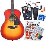 ヤマハ ギター アコースティックギター 初心者 ハイグレード16点セット YAMAHA FS820 AB [98765] 【検品後発送で安心】