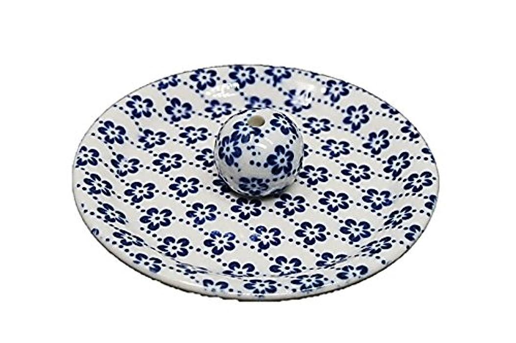 を通して元気従事する9-25 梅花 9cm香皿 お香立て お香たて 陶器 日本製 製造?直売品