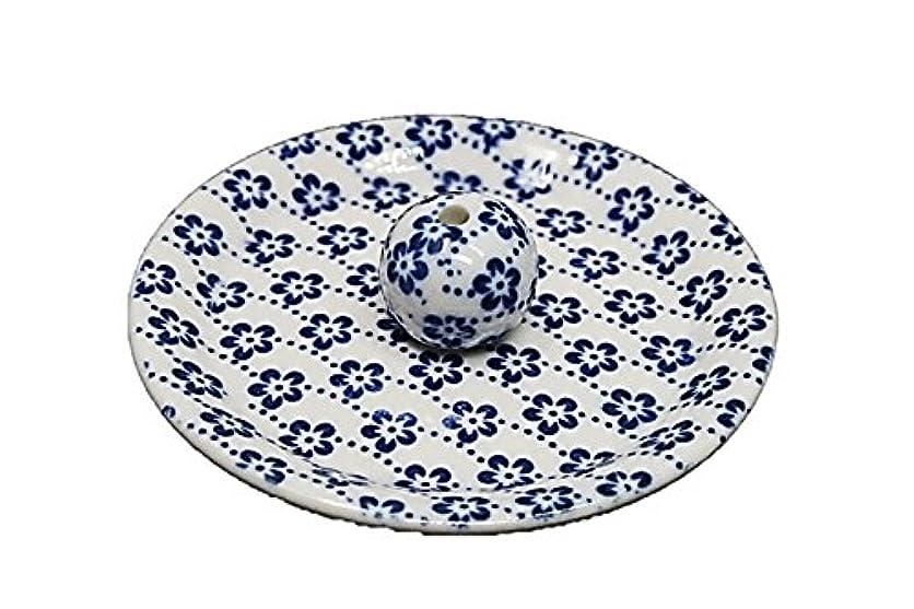 古代スコアデマンド9-25 梅花 9cm香皿 お香立て お香たて 陶器 日本製 製造?直売品