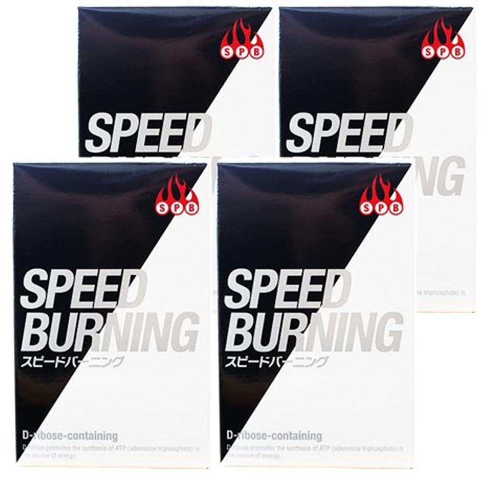 かかわらず失敗教義スピードバーニング SPEED BURNING×4個