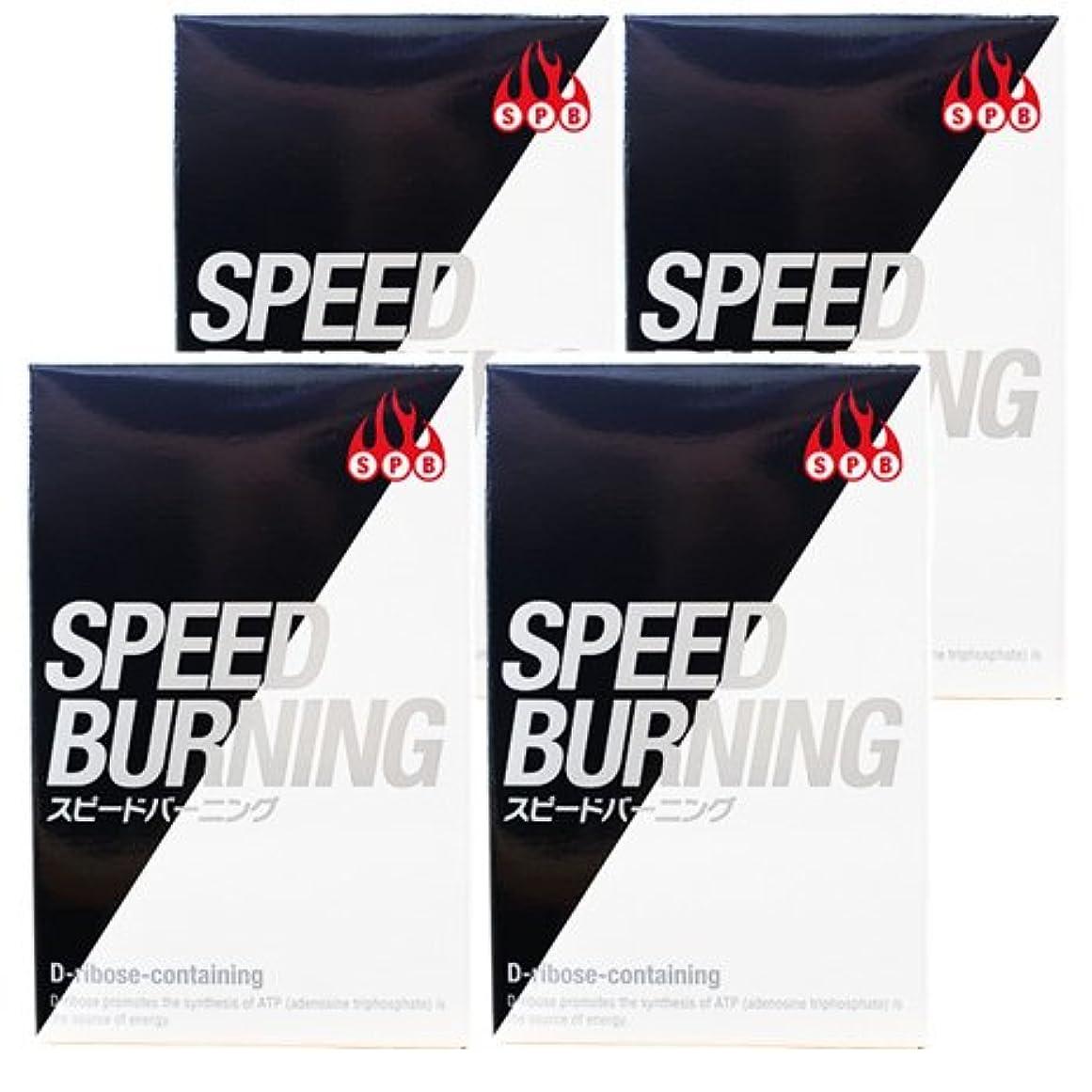 透明に惨めな生き返らせるスピードバーニング SPEED BURNING×4個