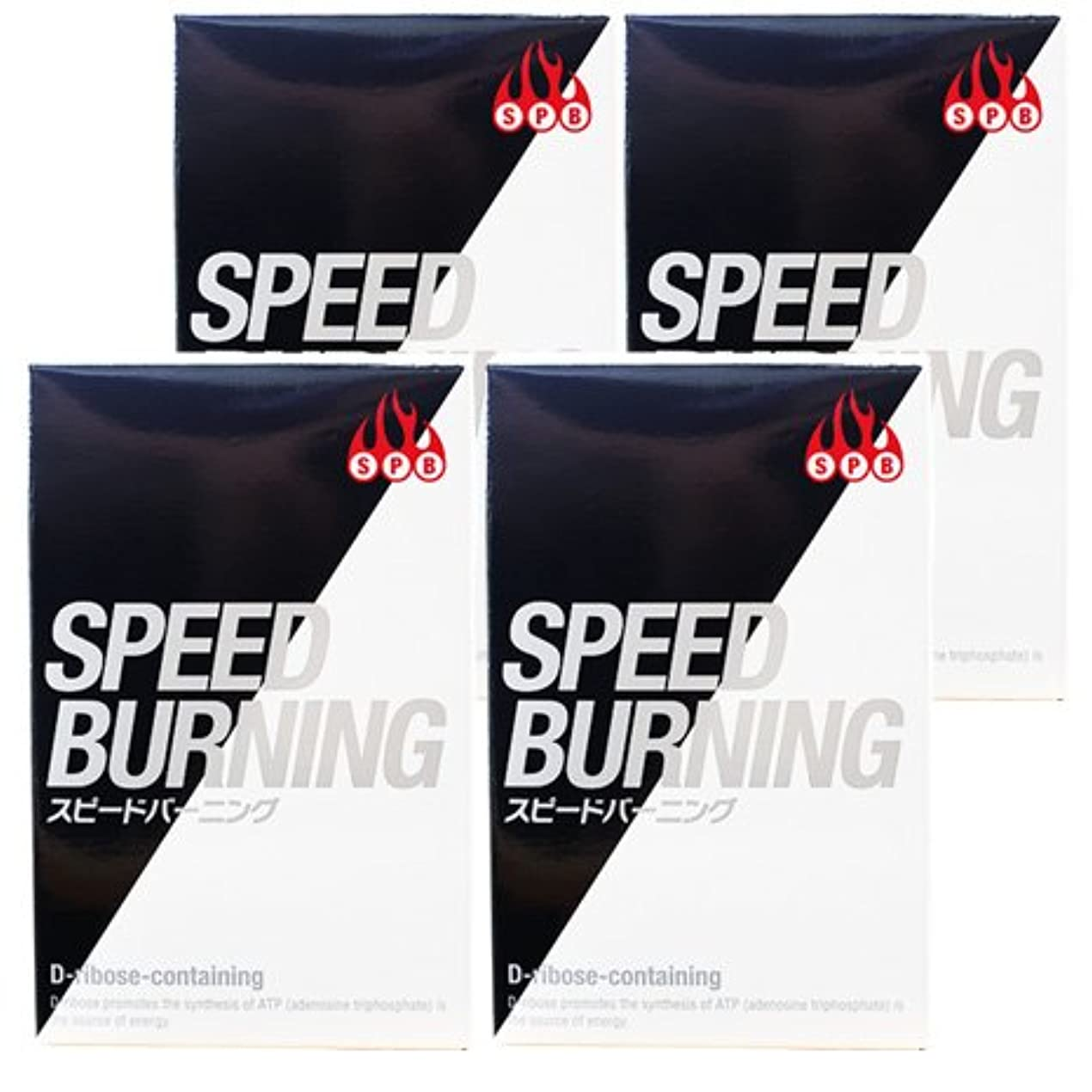 統治する飢えコテージスピードバーニング SPEED BURNING×4個