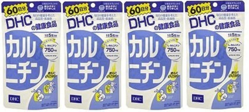 動機専門用語書き込み【???便】DHC カルニチン 60日分(300粒)×4個セット