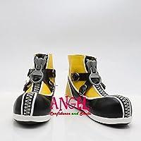 【サイズ選択可】男性27.5CM B1C00702 コスプレ靴 ブーツ ディズニー キングダム ハーツII KINGDOM HEARTS II ソラ Sora