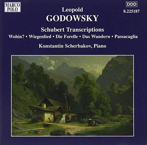 ゴドフスキー:ピアノ作品全集 第6集 - シューベルト編曲集、編曲とパラフレーズ