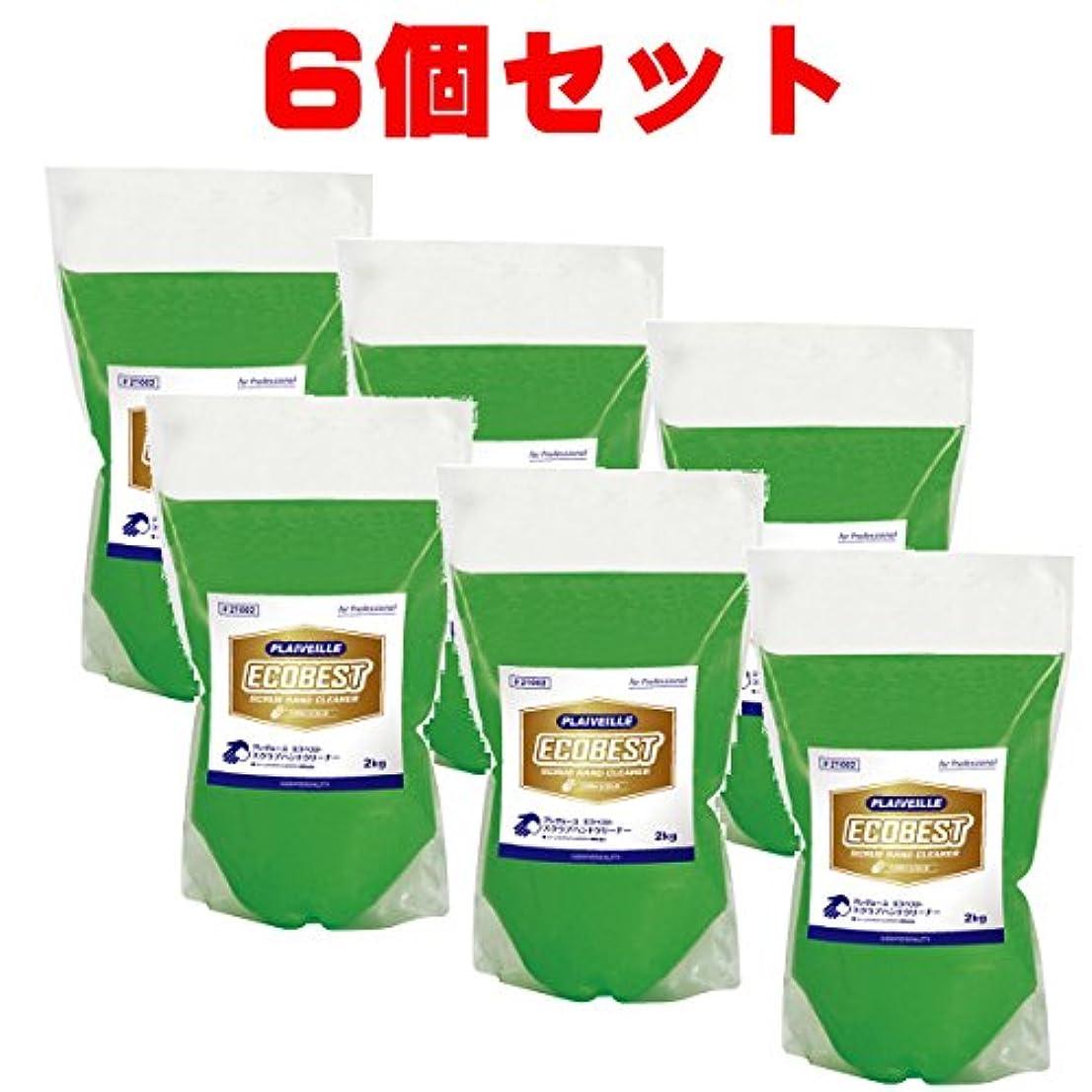 穀物密度尽きるコスモビューティー プレヴェーユ エコベスト 詰替 2kg 6本 セット 21002-6 モクケン スーパーマイルドの新バージョン