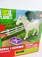 Animal Planet Farm Horse Building Blocksセット