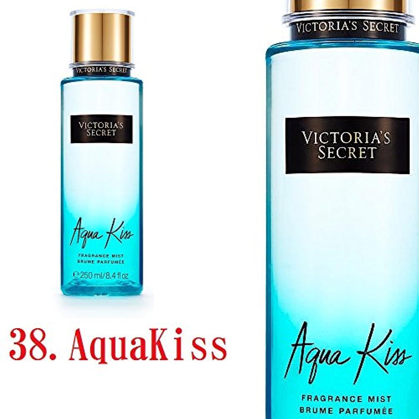 頬水っぽい拍車Victoria's Secret Fantasies フレグランスミスト ヴィクトリアシークレット (38.アクアキス) [並行輸入品]