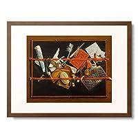 サミュエル・ファン・ホーホストラーテン Samuel van Hoogstraten 「Still-life.」 額装アート作品