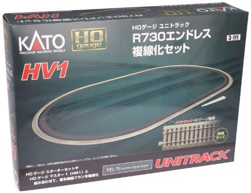 KATO/カトー 3-111 HV-1 HOユニトラックR730 エンドレス複線化