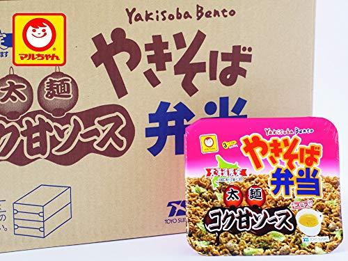 マルちゃん やきそば弁当 太麺 コク甘ソース味 12食入