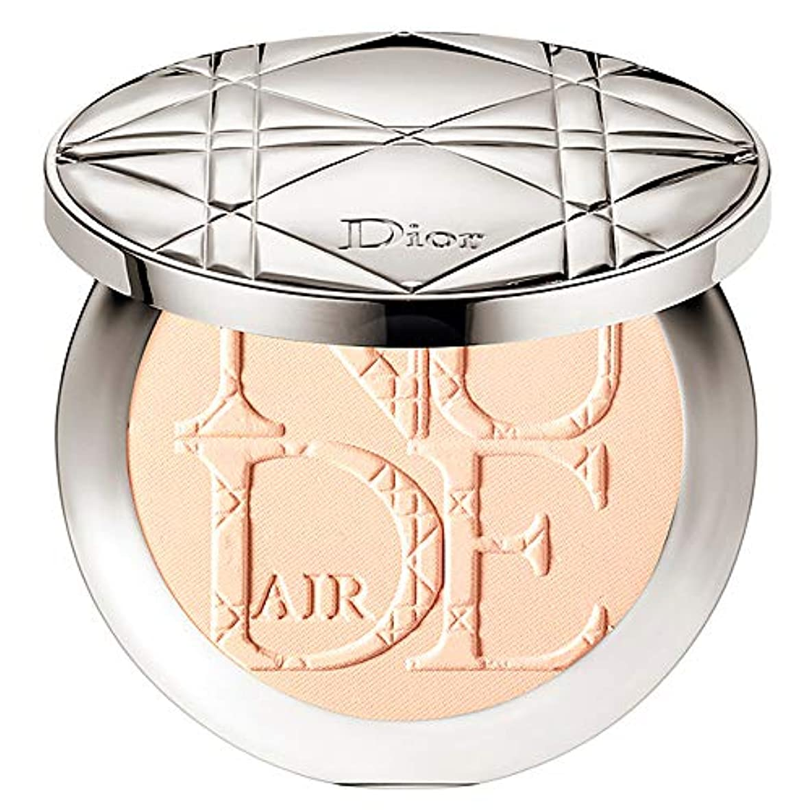 杭インフラずんぐりしたクリスチャンディオール Diorskin Nude Air Healthy Glow Invisible Powder (With Kabuki Brush) - # 010 Ivory 10g/0.35oz並行輸入品