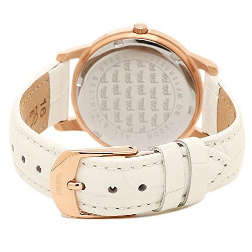 (フォリフォリ) FOLLI FOLLIE フォリフォリ 時計 FOLLI FOLLIE WF15R032SPWWH マッチポイント レディース腕時計ウォッチ シルバー/ピンクゴールド/ホワイト [並行輸入品]