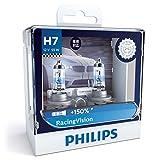 PHILIPS(フィリップス) ヘッドライト ハロゲン バルブ H7 3400K 12V 55W レーシングヴィジョン RacingVision 輸入車対応 2個入り 12972RVS2