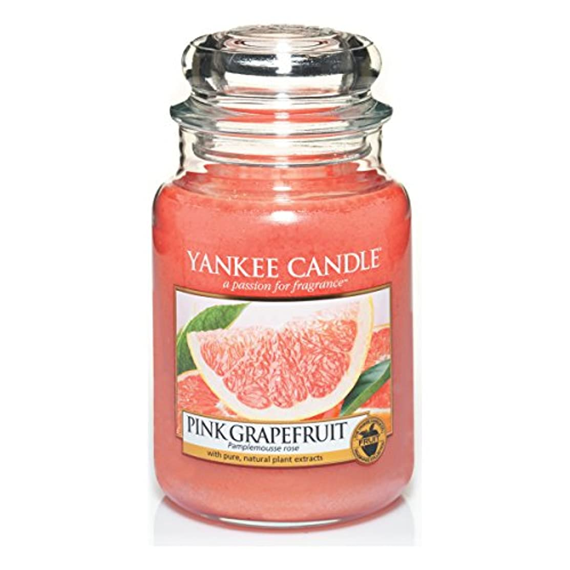 広々記事兵士Yankee Candle Large Jar Candle, Pink Grapefruit by Yankee Candle
