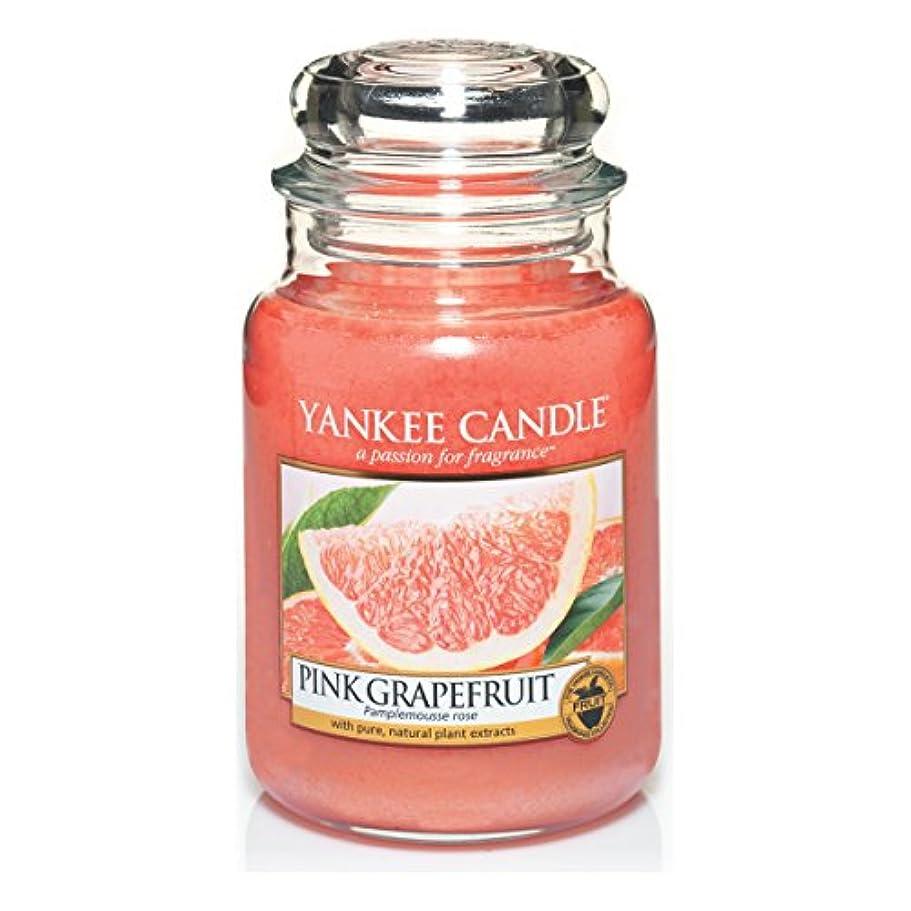 資金天の交通Yankee Candle Large Jar Candle, Pink Grapefruit by Yankee Candle