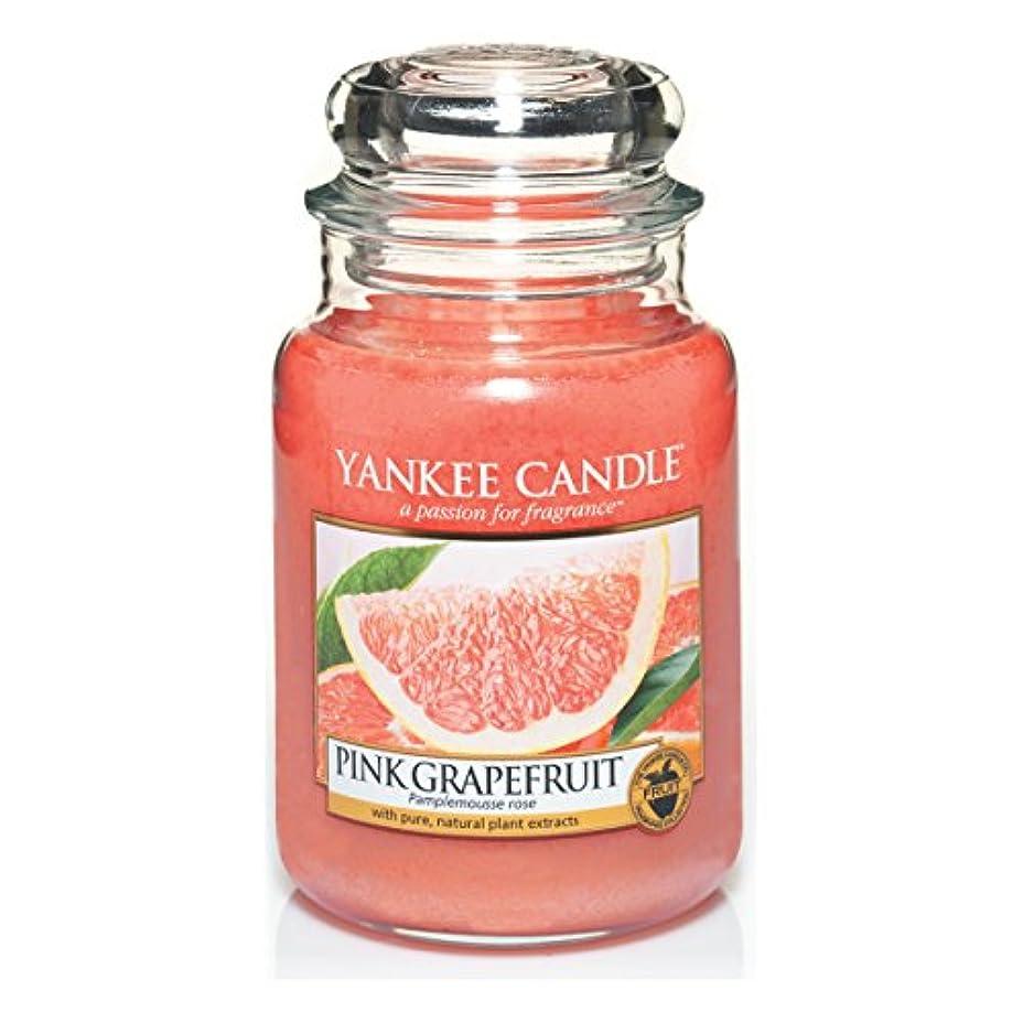 手数料スキニー提出するYankee Candle Large Jar Candle, Pink Grapefruit by Yankee Candle