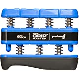 Gripmaster Hand Exerciser, Unisex-Adult, 14001-BLU, Blue, Light Tension (5-Pounds per Finger), Light
