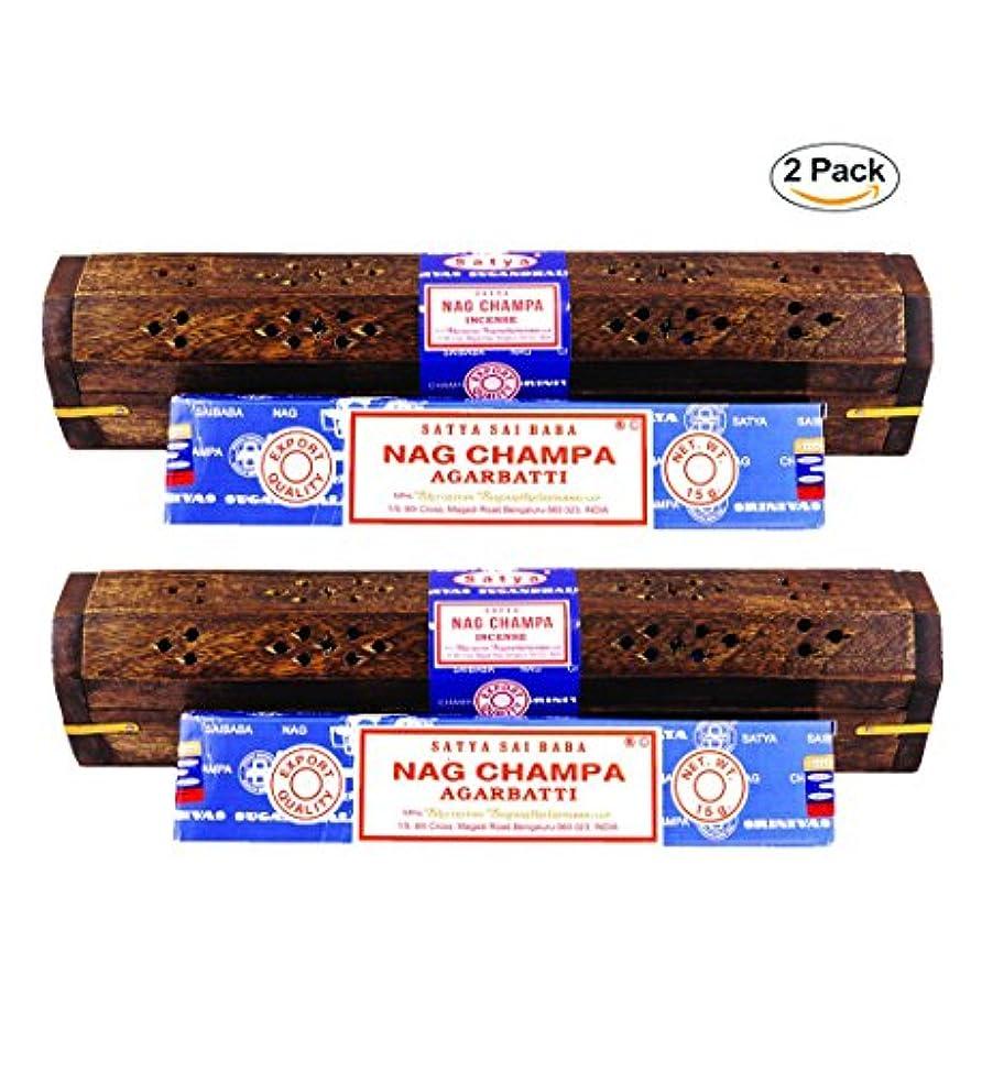許容できるグレートバリアリーフチップNagchampa Coffin Incenseボックス12
