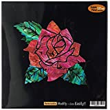 Rose Of Cimarron In Abalone Theme Inlay Sticker Decal Guitar & Bass [並行輸入品]