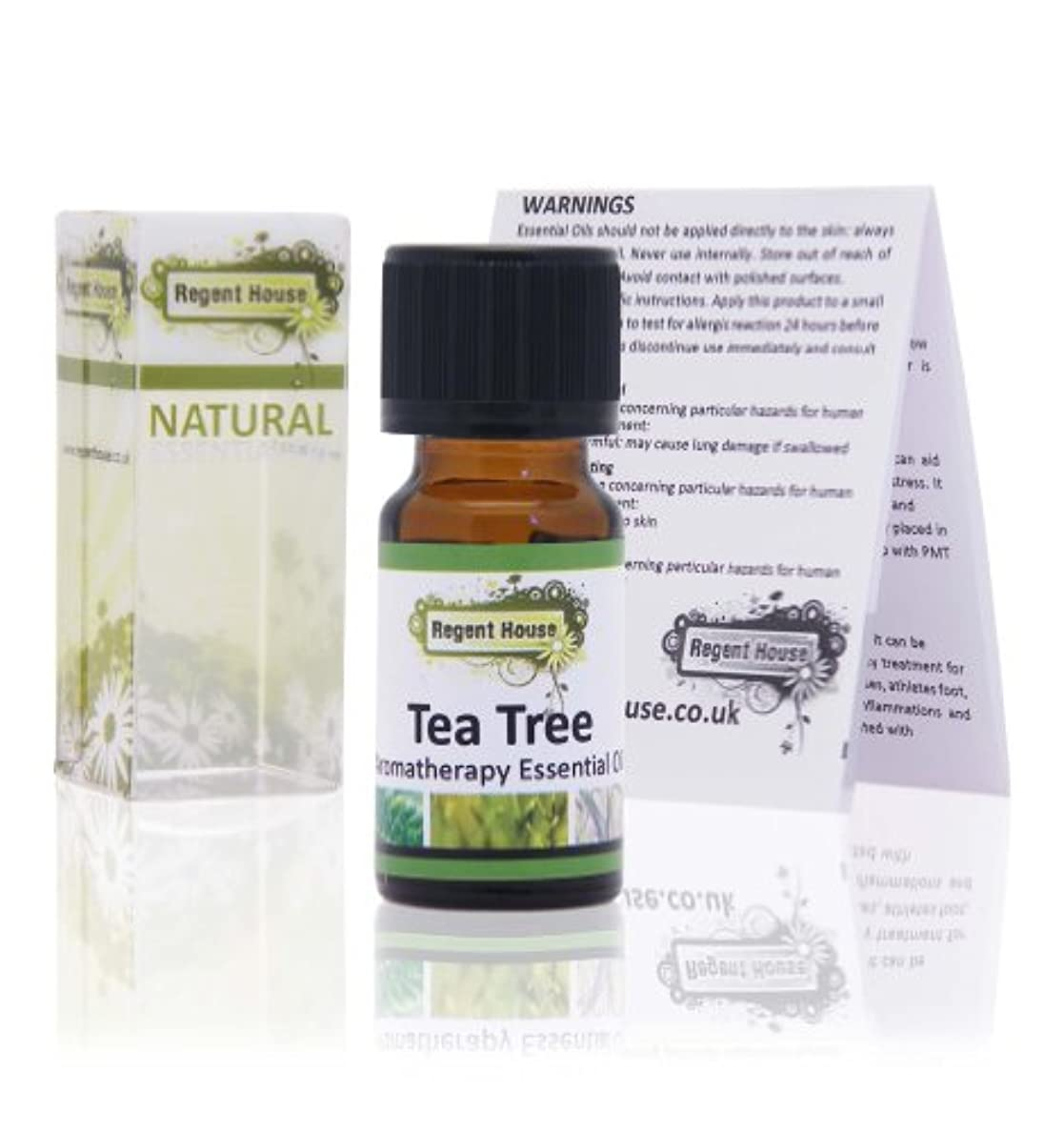 学部長量振動させるナチュラルエッセンシャルオイル ティートゥリー(Tea Tree)