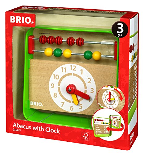 BRIO 時計付きアバカス 30447