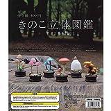きのこ立体図鑑 [全6種セット(フルコンプ)]